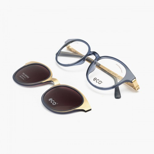 Glomma Clip-on Black Gold