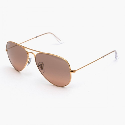 Aviator Gradient RB3025 Oro...